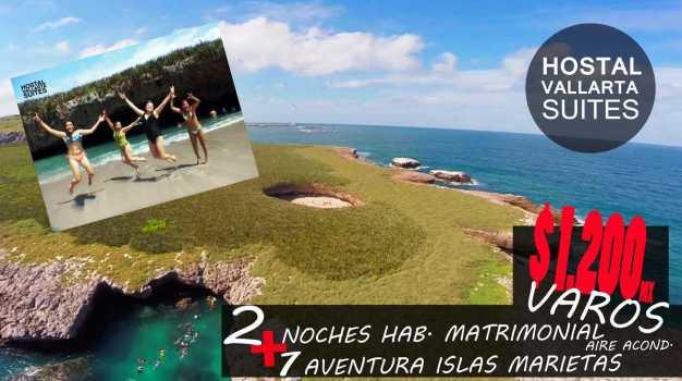 islas marietas VALLARTA hostal